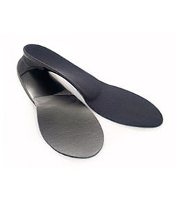 Custom orthotics for heel pain, foot pain, ankle pain, knee pain, hip pain, and lower back pain