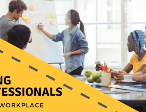 young professionals in the workplace