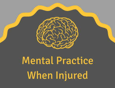 mental practice while injured